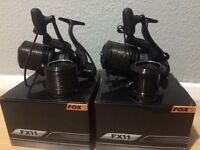 Fox fx11 big pit reels