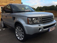 2008 LAND ROVER RANGE ROVER SPORT HSE 2.7TD LEFT HAND DRIVE LHD AUTO 1 OWNER FULL DEALER SERVICE