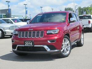2014 Jeep Grand Cherokee Summit! 4x4! IV Hitch!