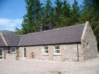 Capercaillie Cottage, Glenrinnes.