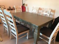 Large Table and 6 x Chairs