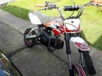 Pit bike thumpstar 125