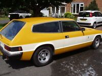 RELIANT SCIMITAR GTE SE6A, 1979, MANUAL + OVERDRIVE