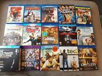 36 dvd bundle set many blu ray tv