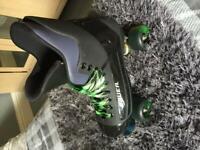 Bauer quad skates turbo size 8 for sale  Ripley, Derbyshire