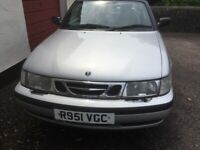 Saab, 9-3, Convertible, 1998, Manual, 1985 (cc), 2 doors ,Low mileage ,exceptional condition.