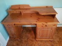 Large desk with storage
