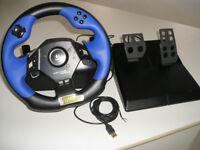Logitech Steering Wheel for Playstation/PC