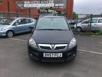 Vauxhall Zafira 1.8 i 16v Design 5dr SPARES AND REPAIRS