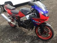 Kawasaki zx6r ninja 8 months MOT swap for 125