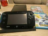 Wii U with Two Games