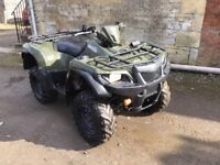 Suzuki King Quad 500... 2014/14 plate... just one owner from new.... road legal .. price + vat