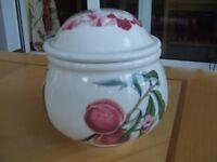 Portmeirion Pomona Covered Sugar Bowl