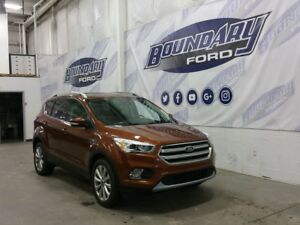 2017 Ford Escape Titanium W/ Ecoboost, Leather, SYNC 3 Connect