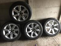 Audi A7 alloys with new tires