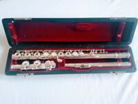 Very good condition student flute: Solid silver Jupiter 711 (£500 ONO)