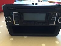 VW RCD 210 radio/MP3 compatible CD player.