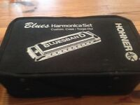 Harmonica set blues