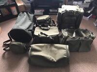 Trakker fishing luggage job lot