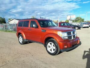 2007 Dodge Nitro SLT 3.7L V6 4WD!! Leather!! Winter Is Coming!!