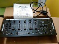 "Numark CM100 professional 19"" mixer"