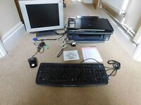 Epson Stylus DX7450 3 in 1 Printer with cables,monitor,keyboard joblot
