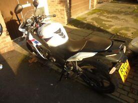 Honda cbr125cc 2013