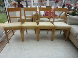 FOR SALE TWO DINING CHAIRS