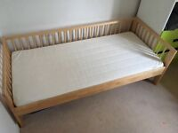 Ikea Sultan Laden childrens bed 2-8 year olds