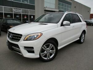 2014 Mercedes-Benz M-Class ML350 BlueTEC 4MATIC FULLY LOADED
