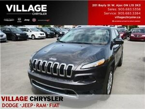 2016 Jeep Cherokee Limited 4x4 NAV PANOSUNROOF LEATHER REMOTE