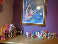 My little pony friendship collection and Winnie Pooh picture