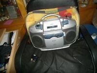 CD-Sterio radio cassette player