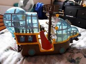 Jake and the Neverland Pirate boat