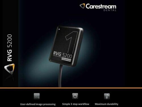 Authentic Carestream RVG CS5200 Dental X-Ray Sensor Size 1 FZ | USA