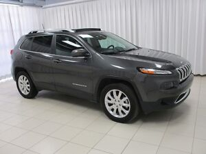 2017 Jeep Cherokee TEST DRIVE THIS BEAUTY TODAY!!! LIMITED 4X4 S
