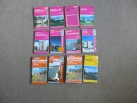 LOT OF 12 ORDNANCE SURVEY MAPS - SEE AD FOR DETAILS