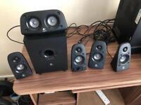 Logitech Speakers.