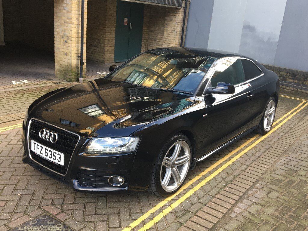 audi a5 3 0 tdi quattro s line 2009 in barking london. Black Bedroom Furniture Sets. Home Design Ideas
