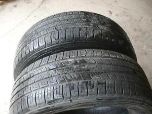 Two Goodyear Assurance tires 225-60-17   $90.00