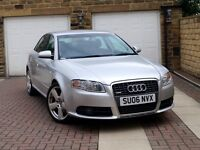 2006 AUDI A4 2.0 TDI S LINE 140 ***2 OWNER+FASH+T/BELT DONE*** *** 170 1.9 1.6 a6 a3 passat golf rs4