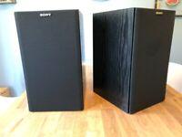 Sony APM 121es bookshelf speakers for offer