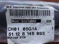 GENUINE BMW E36 3 SERIES SPORT 318is/320is/328is/M3 REAR BUMPER BUFFER STRIP