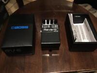 Boss rv-6 reverb guitar pedal
