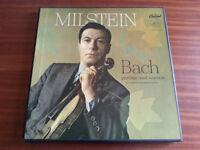 Bach / Milstein 3 x LP/Vinyl Capitol Records 1957 UK RARE £300