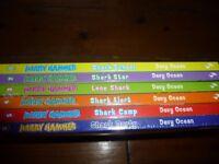Set of 6 Harry Hammer books - brand new