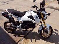 Honda MSX 125-e,low mileage ,good condition,Cat C