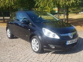 2008 VAUXHALL CORSA DESIGN 1.3 CTDI DIESEL, MANUAL, ONLY 53K, FULL MOT, CHEAP TO RUN AND INSURE!!!