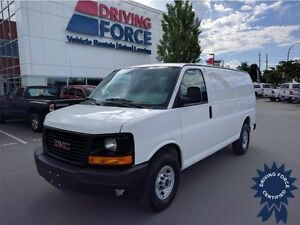 2014 GMC Savana Cargo Van, 4.8L V8, Seats 2, Backup Camera