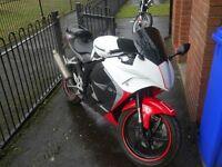 Hyosung gt125rc 2015 65 plate 125cc motorbike